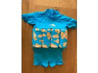 Konfidence Baby Hibiscus Floatsuit 2-3