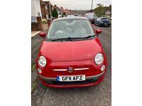 Fiat, 500, Low Mileage, 2011, Manual, 1242 (cc), 3 doors