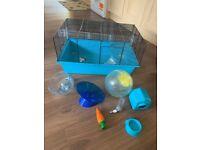 Hamster cage & bits