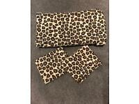 Leopard Print Double Bedding