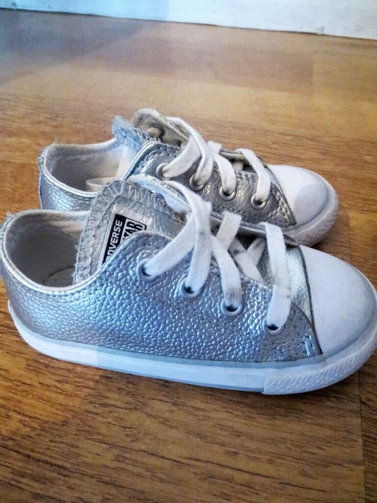 Kids Toddler Converse - Great Condition Size UK 7