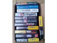 12 Sega Megadrive Games - all with boxes and instructions