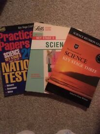 Letts Key stage 3 Science (11-14 yrs) Study Guide + Revision Guide + Stage 3 (13-14) practice papers
