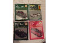 Ibiza, Civic/CRX, S40/V40, Golf/Bora Haynes Manuals