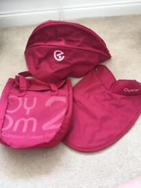 Oyster Carrycot Colour Pack in Pink