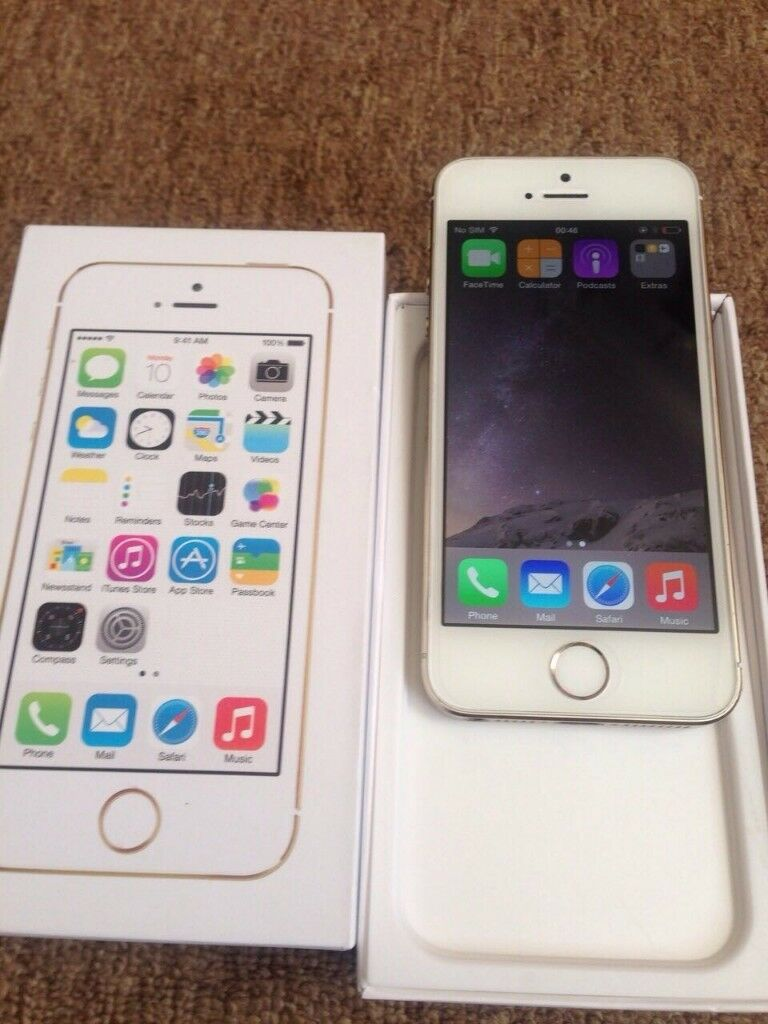 Apple Iphone 5s 16gb Grey Gold Unlocked In Barking London Gumtree Se