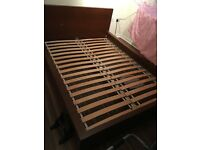 Ikea double bed for sale - hardly used
