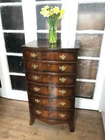 Vintage/Antique Chest Free Delivery Ldn Tallboy/narrow chest