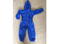 lue waterproof puddle suit 18-24 months in excellent condition