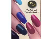 Nails , Threading and Brow & Lash Tint