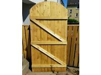 6ft Large, heavy wooden gate