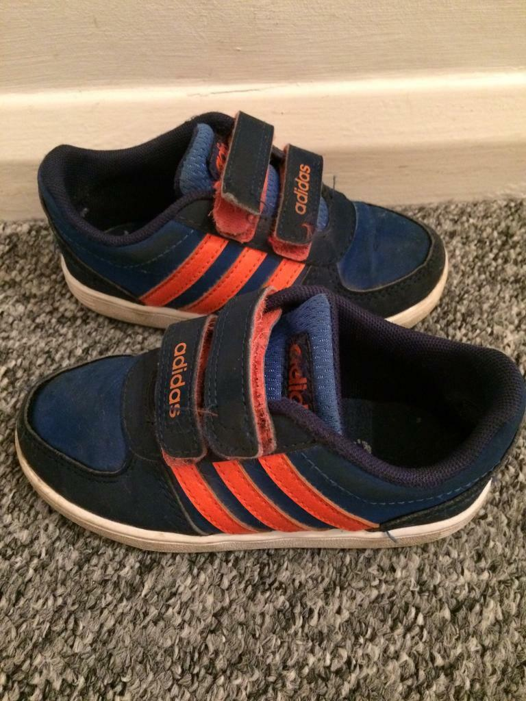 infant adidas trainers size 8