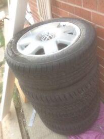 Polo 9n alloy wheels