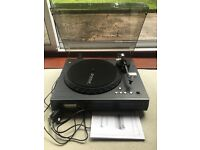 Neostar Vinyl2CD NTCD1B turntable in Black