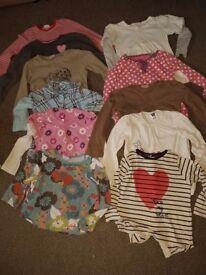 3-4 years girls bundle+free toys