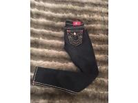 Women's True Religion skinny jeans - size 24 - great condition