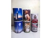 Wholesale-Resellers-24 X MONEY TIN MONEY BOX DUBAI LONDON DOG CAT