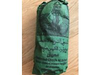 Brand-new unopened 2x500g RHASSOUL / GHASSOUL MOROCCAN CLAY FOR HAIR BODY FACE - ORGANIC