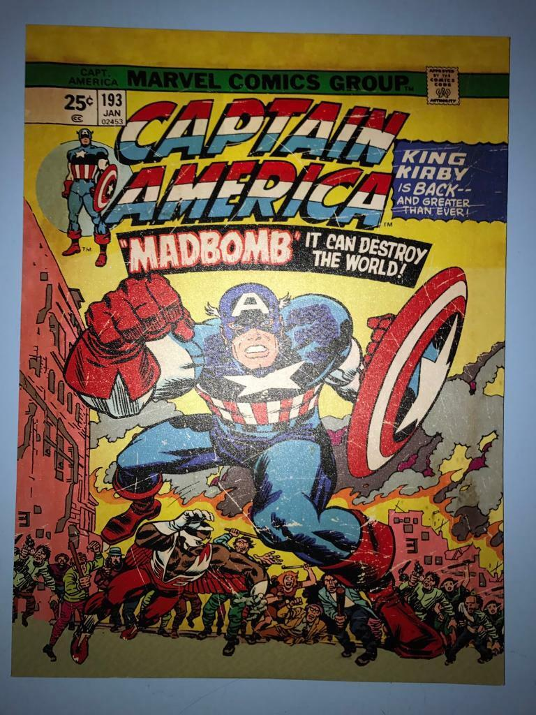 Captain America large picture canvas