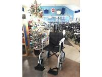 Lightweight Folding Transit Wheelchair - Brand new