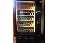 VENDING MACHINE SUMMER SPECIAL CAN AND BOTTLE DRINKS MACHINE