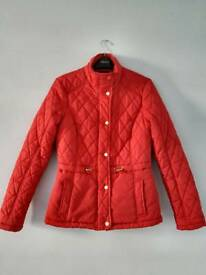 Red coat Size 8