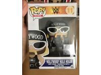 Rare Vaulted WWE Hollywood Hulk Hogan nWo Funko Pop Vinyl