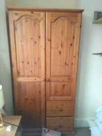 Quality pine wardrobe