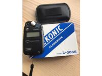 Seconic light metre L-308s