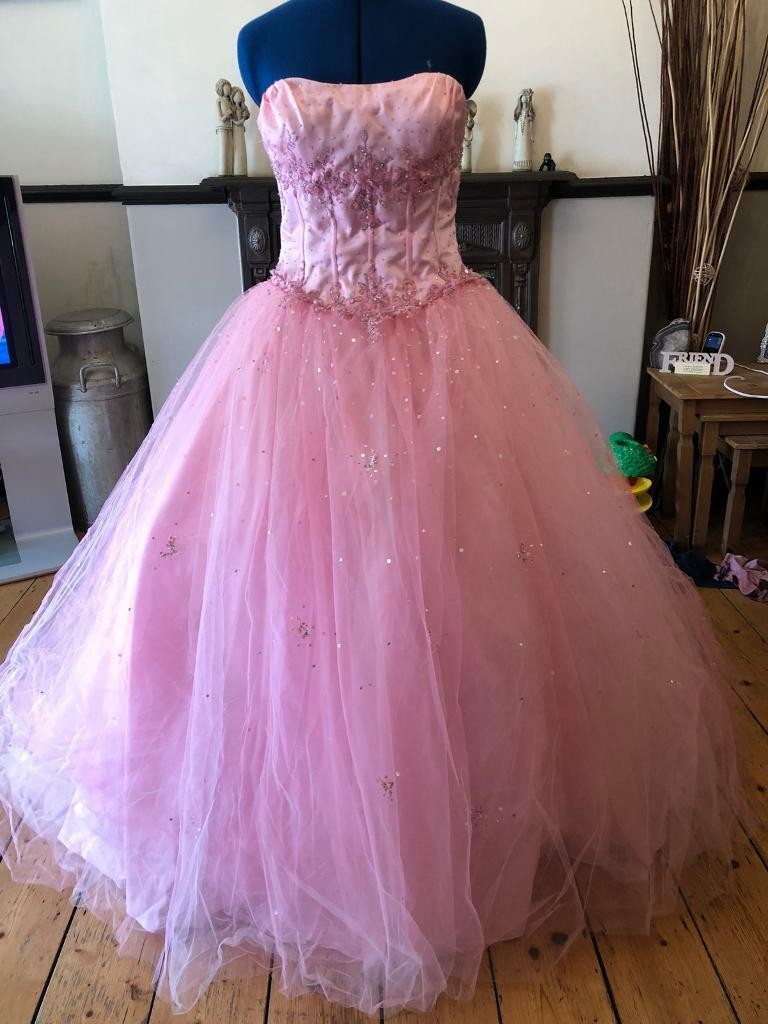 Mori lee beautiful designer prom dress size 10 | in Barry, Vale of ...