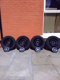 "vauxhall vivaro 16""orignal wheels for sale £60 ONO"