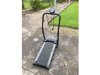 Electric treadmill good condition
