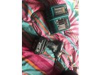 Makita drill, battery and charger.