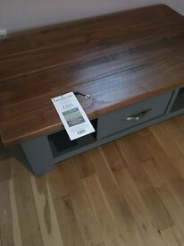 Next Hartford grey coffee table NEW* does not suit the room it was bought for, unused.