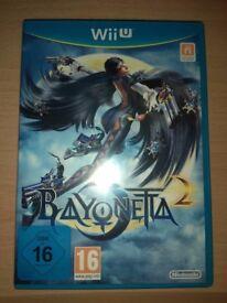 Bayonetta 2 Nintendo Wii U Game MINT