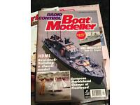 Large Collection Of Over 100+ Model Boat Builder Magazines