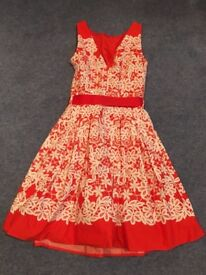 Red Herring Evening Dress Size 6