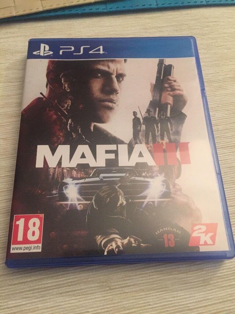 PS4 mafia