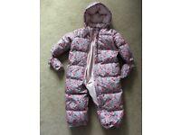 Baby Girls snowsuit Gap age 18-24 months