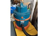 Vax Wet and Dry Hoover - great for DIY clean up jobs