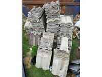 Second hand roof tiles
