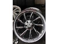 "Mercedes SLR alloy wheels 19"" (Lorinser, VW, t2,t4, golf,etc)"