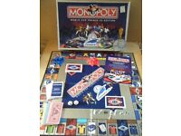 """Monopoly """"WORLD CUP FRANCE 98 EDITION"""". Official licensed product by Waddingtons"""