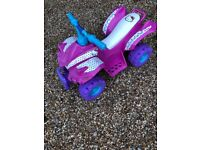 Childrens Electric quad bike