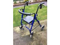 AIDAPT MOBILITY WALKING AID WITH SEAT.