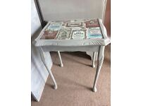 Coffee side table modern shabby chic