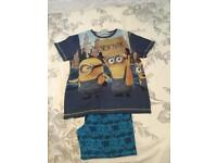 Boys minion pyjamas. Size 10-11 years old.