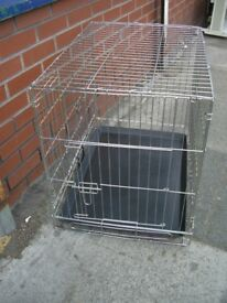 FOLD UP DOG CAGE / CRATE