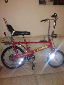 MK3 Custom Raleigh Chopper Bike
