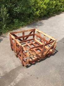 Firewood Storage Crates